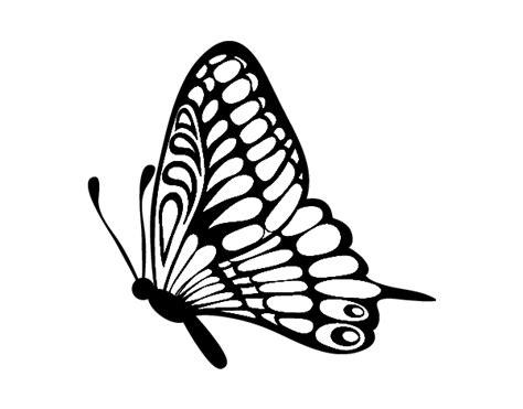 imagenes en png de mariposas dibujo de mariposa direcci 243 n izquierda para colorear