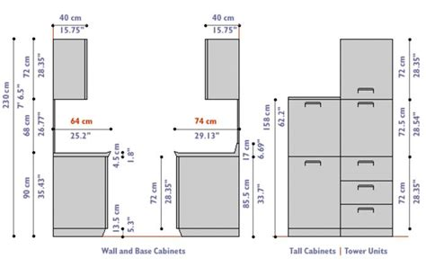 kitchen cabinet measurements door design outline google search ww standards
