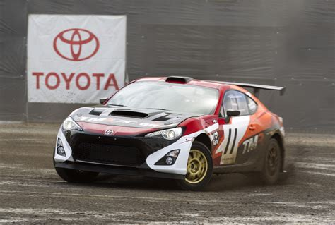 toyota global toyota global president akio pedals a turbo 86 rally car