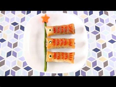 how to make koinobori rolls egg rolls harumaki