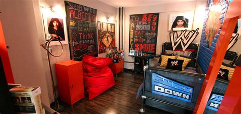 wrestling themed bedroom ideas blissfulbedrooms