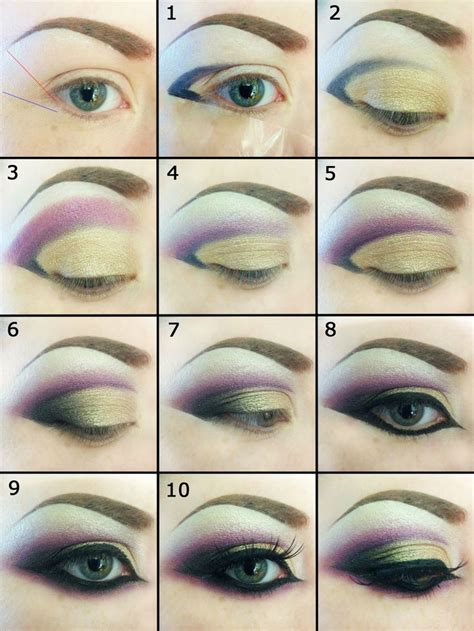 Eyeliner Arab arabic eye makeup purple www pixshark images