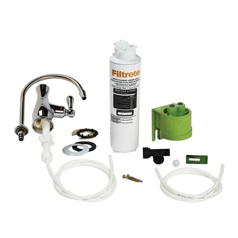 filtrete under water filter filtrete single stage plus under maximum filtration
