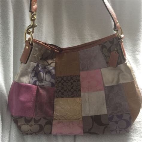 Fossil Easy Bag 418 A468 88 coach handbags authentic coach patchwork handbag from faith s closet on poshmark