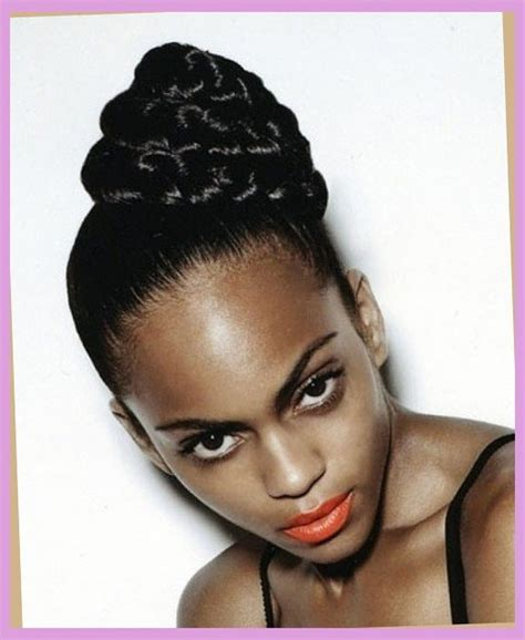 wedding hair buns for black women 5 sounding wedding braided bun hairstyles for black women