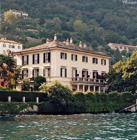 george clooney home photos photos lake como s villas interiors and