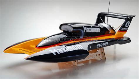 nitro rc hydroplane boats exceed racing fiberglass maximum 26cc gas powered artr