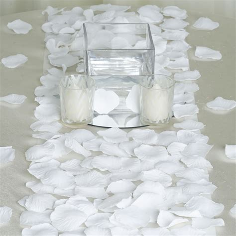 silk rose petals wedding favors wholesale cheap