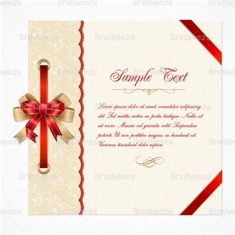 Templates For Cards Lace Tree Cards by Lace Card Vector Template Free Vector