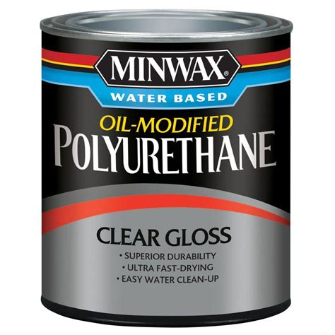Clean Polyurethane by Varathane 1 Qt Matte Soft Touch Polyurethane 266233 The