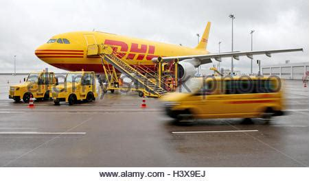 schkeuditz germany aircraft at dhl air freight hub at leipzig halle stock photo 84553243 alamy