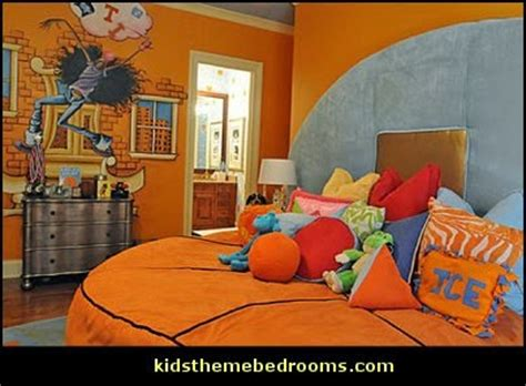 basketball bedroom decor decorating theme bedrooms maries manor sports