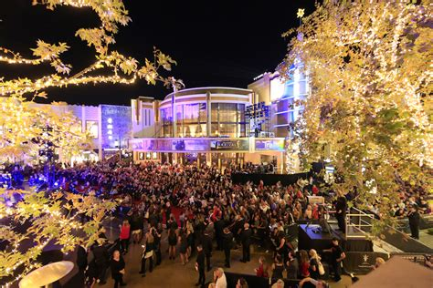 The Grove the grove kicked the festivities with their