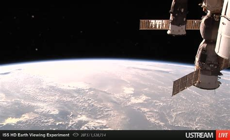 international space station live external view iss hd earth viewing experiment 183 thezedt