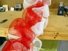 geo mesh (deco mesh) ribbon tree project | christmas