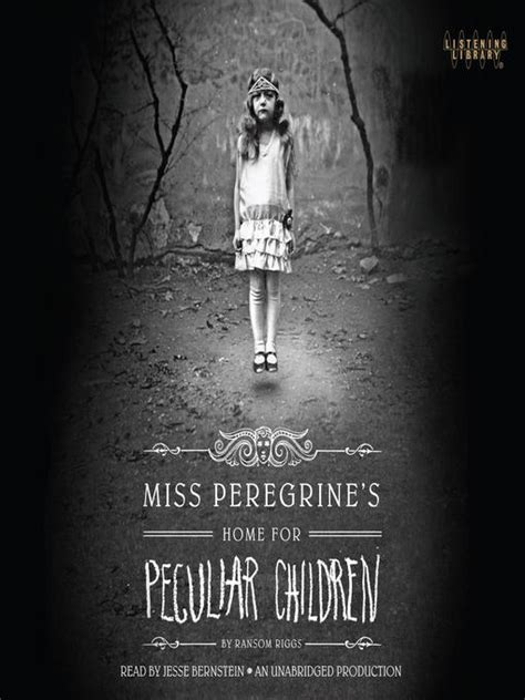 miss peregrine s home for peculiar children mp3 by