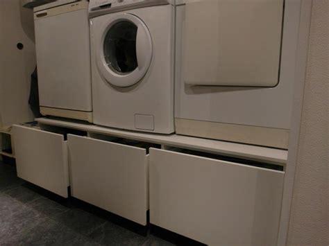 tafel wasmachine ikea was en droog machine verhoging met laden afmeting