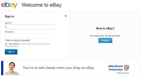 ebay sign in ebay test new design of sign in page tamebay