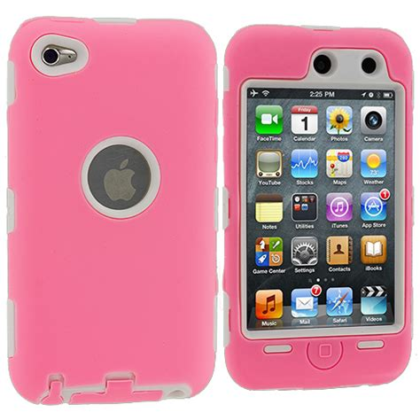 Soft Ipod Touch 4 deluxe 3 hybrid soft cover for ipod touch 4 4th protector ebay