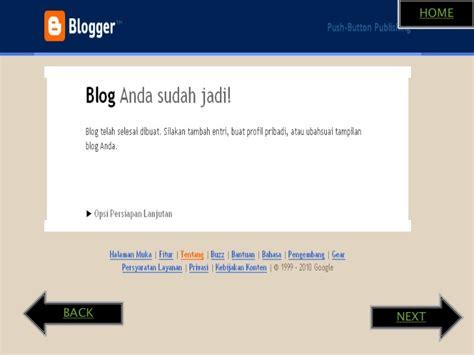 cara membuat blog esa unggul cara membuat blog