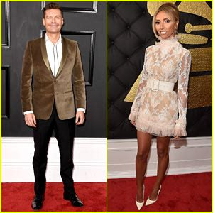 Seacrest Is Ready For The Emmys by Giuliana Rancic Is The Golden At Grammys 2016 2016