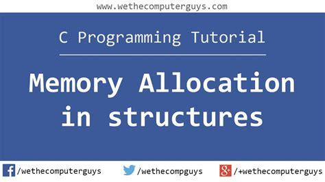 c tutorial with programming c programming language tutorial advanced memory