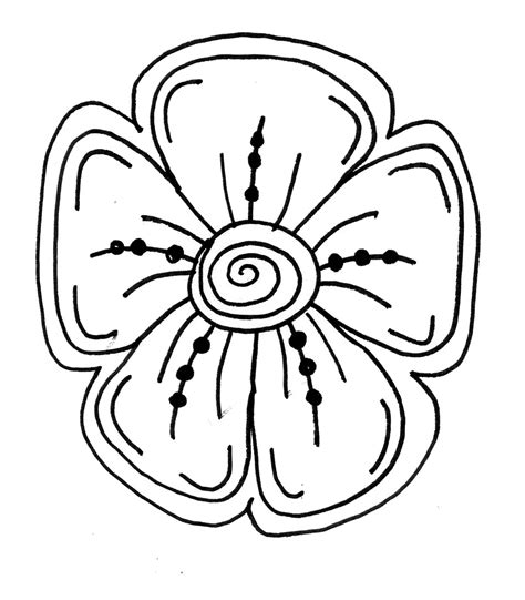 how to draw a doodle flower flower drawing step by stepmakers and shakers how to draw