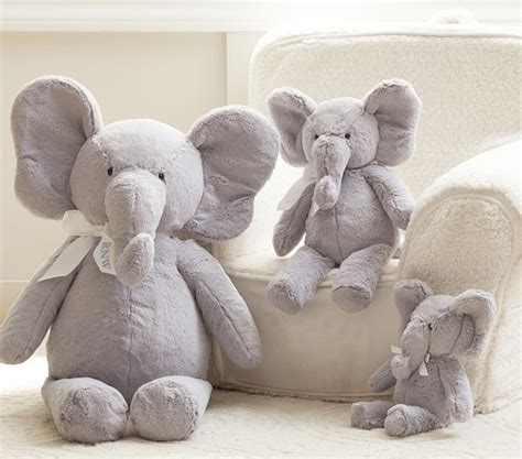pottery barn elephant chair elephant plush collection pottery barn