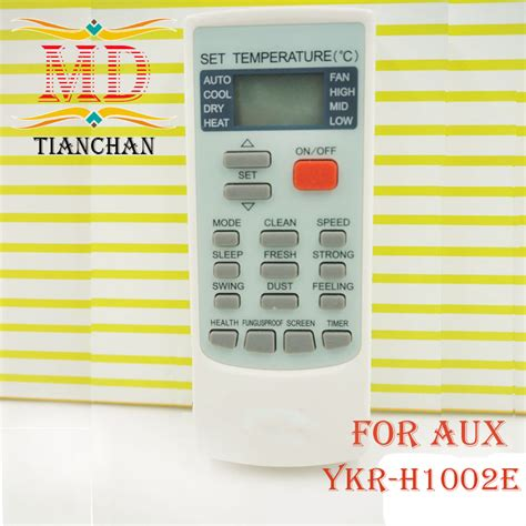 Remot Ac Aux aliexpress buy original air conditioner remote ykr h 002e use for aux universal