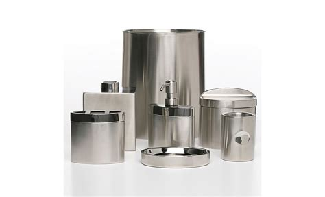 hudson park quot executive quot stainless steel bath accessories