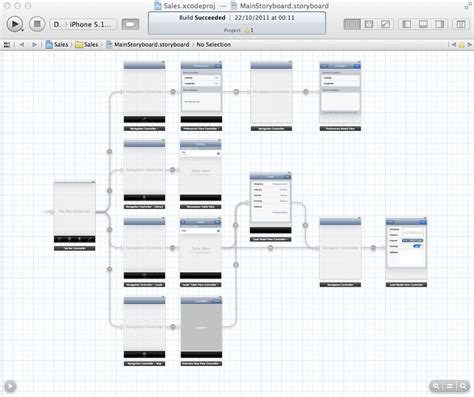 storyboard template app storyboards in iphone and programming learning tree