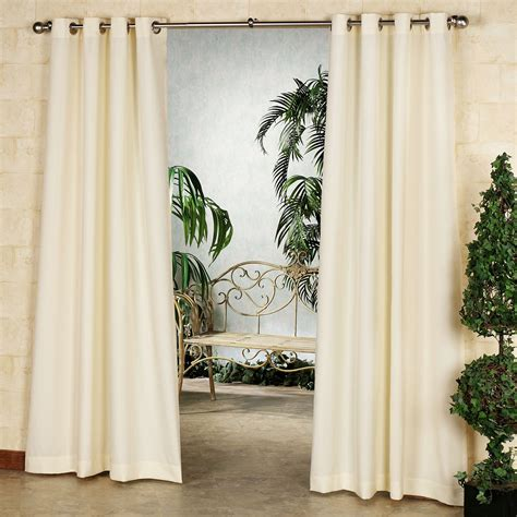 indoor outdoor drapes gazebo solid color indoor outdoor curtain panels
