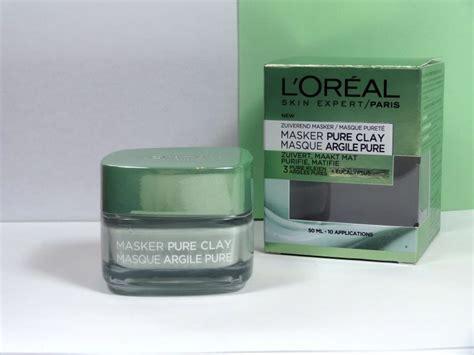 Masker Loreal l oreal clay gezichtsmaskers suszie