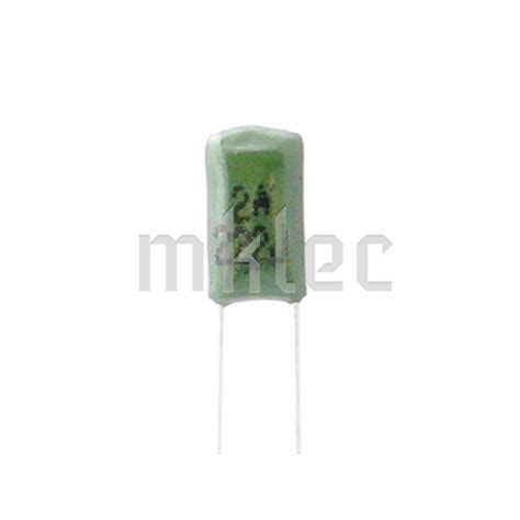 nf capacitor code 2 2nf 0 0022uf polyester capacitor