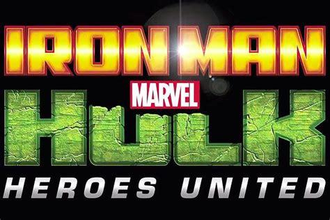 iron man hulk heroes united cartoons