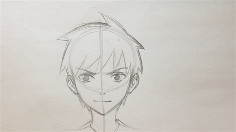 by step how to draw anime boys drawing anime boy for beginners how to draw anime boy face