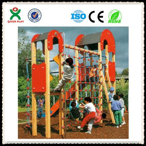 wholesale indoor playground toddler wooden jungle