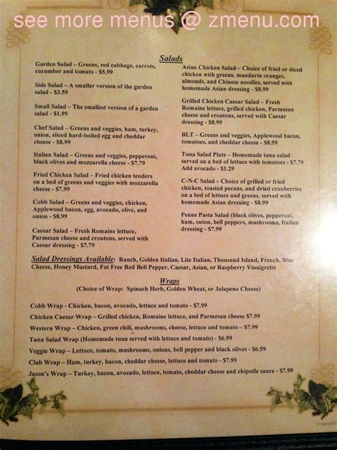 menu of pizza patio restaurant alamogordo new