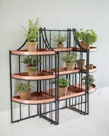 tiered plant shelves essex plant stand set with trays gardeners