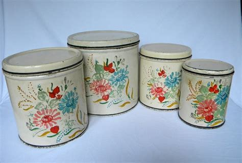 cute kitchen canister sets 50 best images about vintage canisters on pinterest