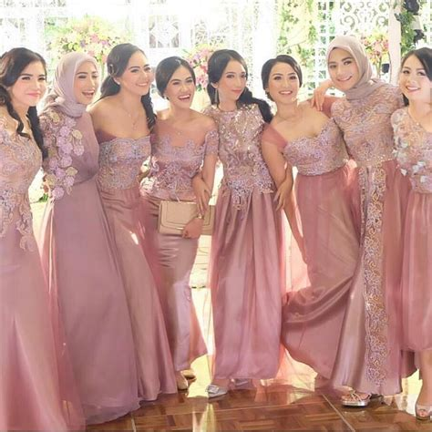 Baju Muslim Model Pesta Murah model gamis kebaya pesta holidays oo