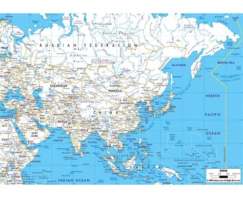 map of cities in asia maps of asia and asian countries political maps road