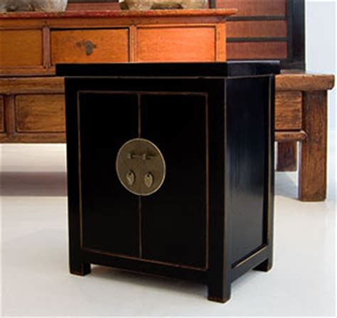 asian accent table brass circle black lacquer asian side tables and end