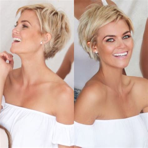 short hair volume on top longer in frint 257 best images about layered pixie hair styles on