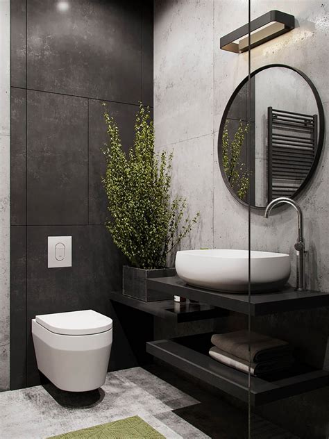 gorgeous industrial bathroom decoration ideas