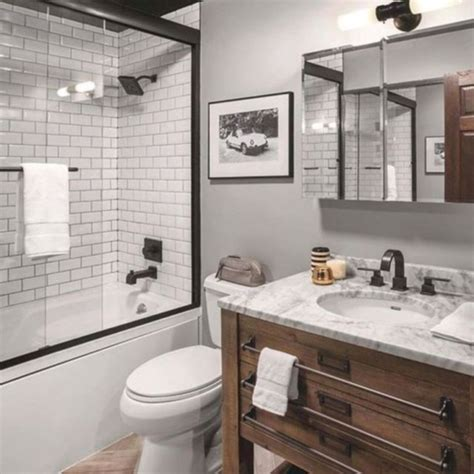 17 beautiful and modern farmhouse bathroom design ideas