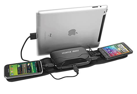 travel charging kit  sharper image