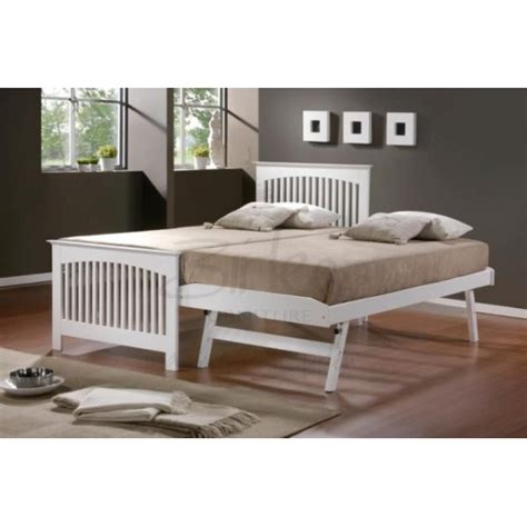 cheap beds online cheap birlea toronto white guest bed and trundle for sale