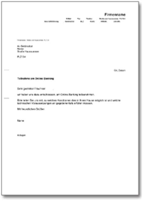 Brief Absage Anfrage Musterbrief An Die Bank De Musterbrief