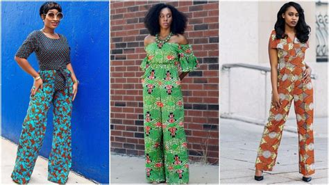 jumpsuit with ankara latest ankara jumpsuit styles you will love fabwoman